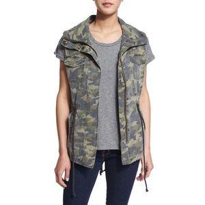 Velvet Blair Camo Vest XS